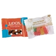 Nuts n snacks in custom imprinted pack - Trail Mix in custom imprinted magic pack, 1 oz pack.