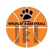 Schedule Basketball Magnet