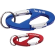 Oval Double Carabiner