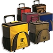 Sedona Rolling Cooler - Rolling cooler made of 600 denier polyester with telescopic handle.