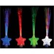 Light-up fiber optic wand