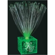 "5.5"" Light Up Small White Centerpieces - Small green light up centerpiece, 5 day production."
