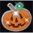 Flashing Pumpkin Flashing Pins