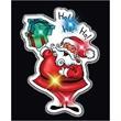 Santa Flashing Pins