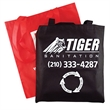 "Convention Tote - Non woven tote with 28"" handles, w 15"" x 16""."