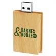 512MB Eco Book Wood Drive Tier 1 - Wooden book USB 2.0 drive.