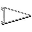 Pennant Stock Shape Magnet