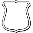 Shield Shape Magnet