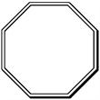 Stop Sign Shape Magnet