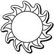 Sun Shape Magnet