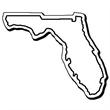 Florida Stock Shape State Magnet