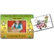 """Magnetic Photo Frame Puzzle - Magnetic photo frame with 2-3/8"""" x 3-3/8"""" center and 6 puzzles pieces."""