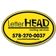 """4""""H x 6""""W Oval Magnetic Sign"""
