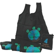 """Insulated / fold up - Polyester 4 in 1 shopping bag, 18"""" x 20""""."""