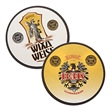 "80 point Full Color White Pulpboard - Coasters, 2 sides, full color, 4"", round or square, 40pt. (1mm thick) pulpboard."