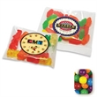 Assorted Gumballs in a Handful Bag - Assorted gumballs in a small pillow bag, 1 oz.