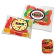 Gummy Worms in Imprinted Label Handful Pillow Bag