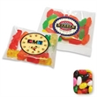 Assorted Jelly Bean in Labeled Goody Bags - Assorted jelly beans in a large pillow bag, 2 oz.