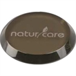 High End Brown Round Single Glass Coaster - High End Brown Round Single Glass Coaster.