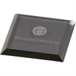 High End Gray Square Single Glass Coaster - High End Gray Square Single Glass Coaster.