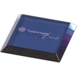 High End Blue Square Single Glass Coaster - High End Blue Square Single Glass Coaster.