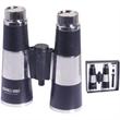 12 oz dual-flask binoculars with gift box - Stainless steel 12 oz. dual flask binocular with gift box.