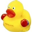 Boxer duck - Boxer rubber duck wearing boxing gloves.