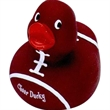 Football duck - Football style rubber duck with football shaped body.