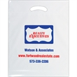 "OXO Reusable Die Cut Fold-Over Reinforced Bag - Flexo Ink - OXO-degradable Plastic Die Cut Bags (15""x18""x3"") - Flexo Ink"