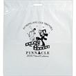 "Die Cut Fold-Over Reinforced Plastic Bag - Flexo Ink - Fold-Over Reinforced Plastic Die Cut Bags (20""x22""x4"") - Flexo Ink"