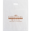 "Frosted Plastic Die Cut Bag - Foil Stamp - Frosted Die Cut Plastic Bags (15""x18""x4"") - Foil Stamp"