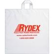 """Fused Soft Loop Handle Bag - Flexo Ink - Fused Soft Loop Handle Plastic Bags (18""""x18""""x4"""") - Flexo Ink"""