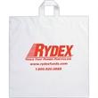 """Fused Soft Loop Handle Bag - Flexo Ink - Fused Soft Loop Handle Plastic Bags (20""""x20""""x6"""") - Flexo Ink"""
