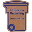 Corrugated Trash / Recycling Bin Magnet