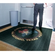 Waterhog Eco Elite Roll Goods Logo Mat - Large entrance mat with rubber backing