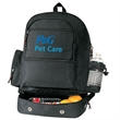 """Backpack - Polyester backpack with cooler, 12"""" x 18"""" x 8"""", blank."""