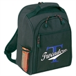 Cooler /  kit - Deluxe polyester coffee backpack for two, blank.