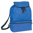 Cooler - Cooler with foldable backpack, 600 denier polyester with PU, blank.