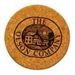 Cork Coaster - Eco friendly, cork coaster, green, laser engraved, free virtuals,no set-up.