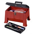 Stack-On step stool tool box - Step stool / tool box, superior strength and stability.