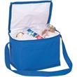 Vinyl insulated ice chest - Imitation 70D nylon six pack ice chest, vinyl insulated.