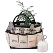 Gardening tool bag - Gardening tool bag, pre-printed with a carrot, onion and a pea.