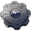 Decision Maker/Paperweight - Solid alloy desktop decision maker.