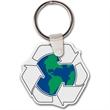 Recycle w/ Earth Key tag