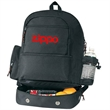 Backpack with Cooler - Backpack cooler with double zippered opening to main compartment