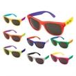 Style Sunglasses 3 Tone! - Rubberized sunglasses with three custom shades.
