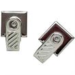 Pressure Sensitive Bulldog Clip - Pressure sensitive bulldog clip; sold blank.