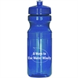 Ultra Lite 25 Oz Sports Bottle - 25 oz. translucent sports bottle with push-pull, twist-on cap and wide mouth opening.