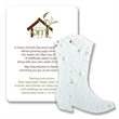 Boot Mini Gift Pack With Seed Paper