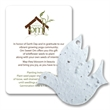 Dove Mini Gift Pack With Seed Paper